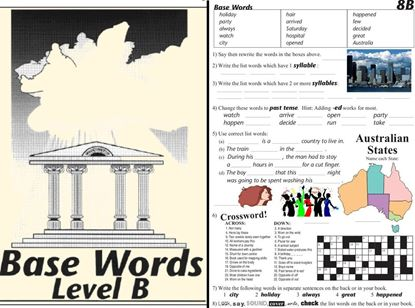 Picture of Base Words Level B eBook