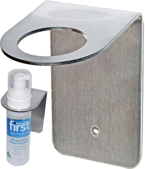 Picture of Hand Sanitiser Wall Bracket - Stainless Steel