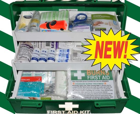 Picture of First Aid Kit -Home/Off Road/Work Box Medium